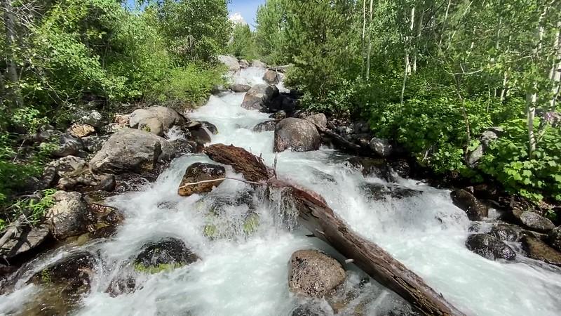 Taggart Creek Cascades -- 6,670'