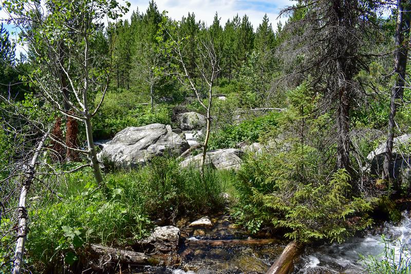 Taggart Lake Trail -- 6,840'
