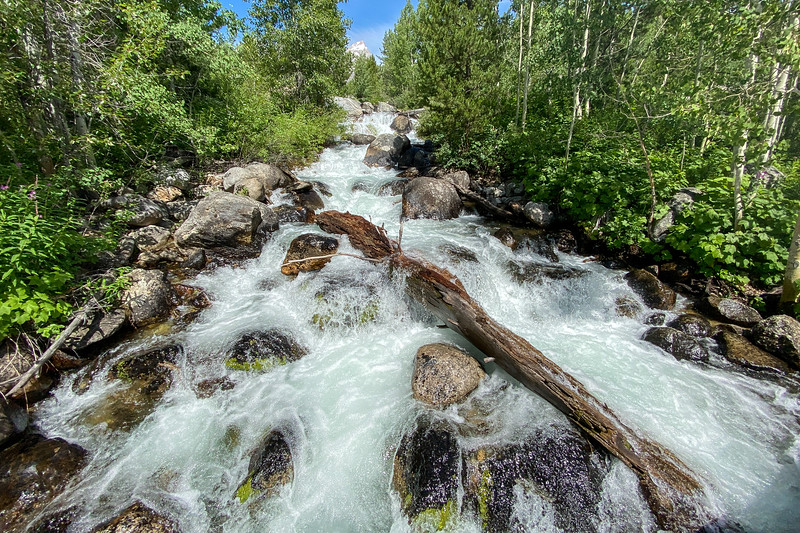 Taggart Creek Cascades -- 6,670'