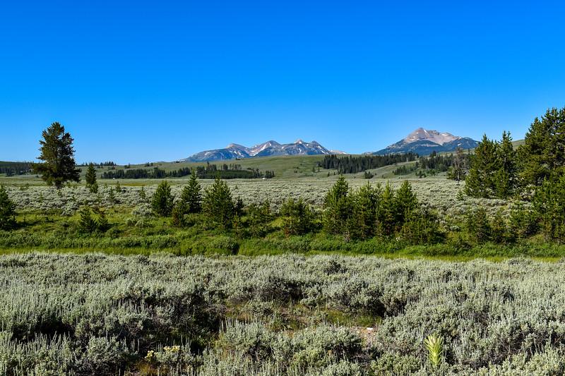 Bunsen Peak Trail -- 7,250'
