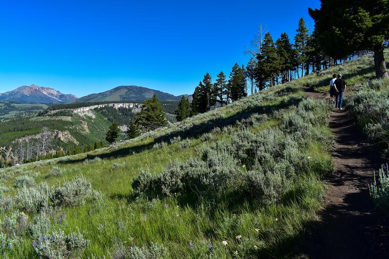 Bunsen Peak Trail -- 7,780'