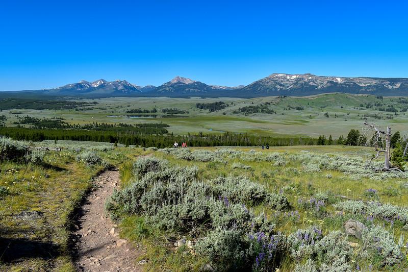 Bunsen Peak Trail -- 7,700'