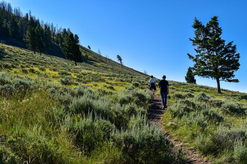 Bunsen Peak Trail -- 7,730'