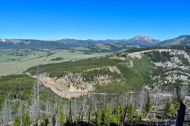 Bunsen Peak Trail -- 8,000'