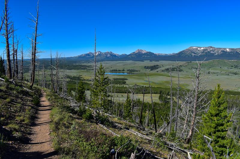 Bunsen Peak Trail -- 7,930'