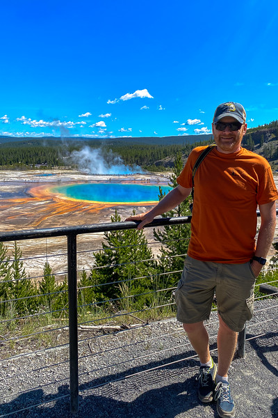 Grand Prismatic Spring Overlook (Fairy Falls Trail) -- 7,350'