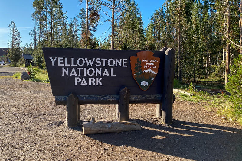 Yellowstone National Park West Entrance