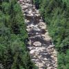 Blackwater River at bottom of canyon