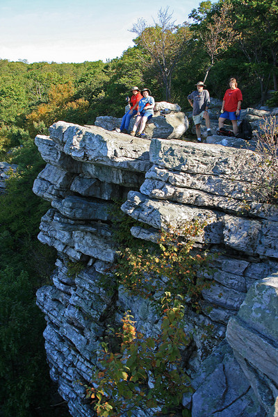 27  Group_Annapolis Rocks Cliff