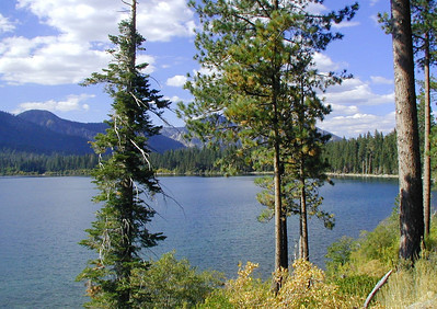 Fallen Leaf Lake, Tahoe, California October 2003