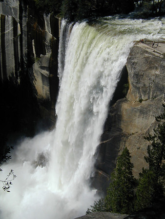 Vernal Fall, Yosemite, May 30, 2003