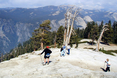 Taft Point and the Fissures, Yosemite Sept 2004