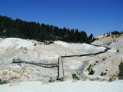 2005 Mt. Lassen Bumpass Hell August 2005