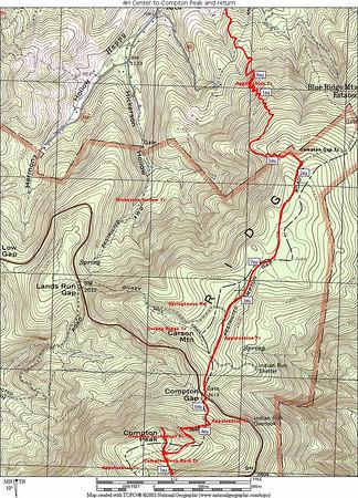 4H Center to Compton Peak 4/06