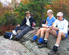 Lunch on Bear Church Rock