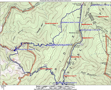 Big Creek 2006