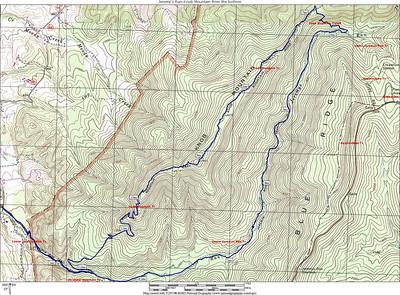 Jeremy's Run-Knob Mtn, 8-23-2006