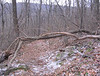 First blowdown, just before crossing Skyline Drive