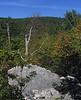 Looking back at Meneka Peak
