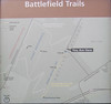 Map of Battle of Harpers Ferry trails