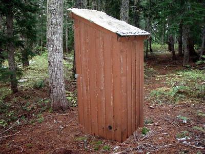 Outhouse at Pyramid Lake