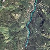 Map track in Google Earth
