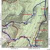 Short hike map