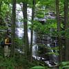 William at Lower Big Creek Falls