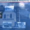 Thaddeus Stevens Blacksmith Shop explanation
