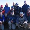 Hikers atop Kennedy Peak