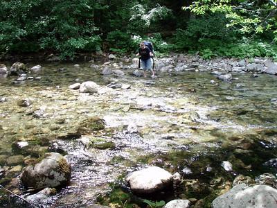 Carly Crossing Elk Lake Creek (crossing #2)