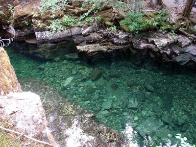 Deep pool on Elk Lake Creek