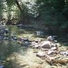 Last crossing of Elk Lake Creek