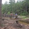 Crossing Furnace creek