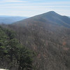 High Knob, highest point on North Fork Mtn