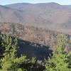 The ridge we went up