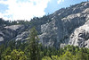 Rocks are high above the trail, you are probably looking up 3000-5000 feet, you are roughly at 4000 feet right now.
