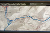 Map of the mist trail. You have a couple of return options