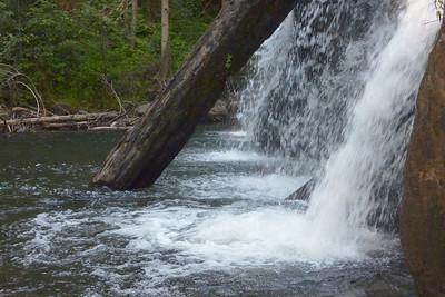Lewis Creek, Redrock Fall, just outside Yosemite National Park, August 2011