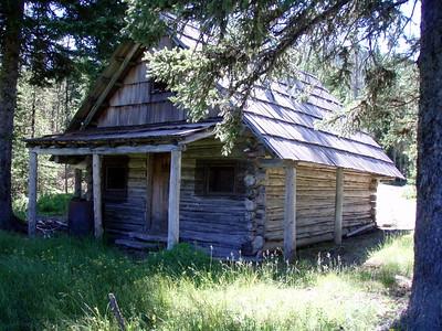 Olallie Meadow guard shack