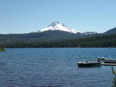 Mt Hood across Olallie Lake