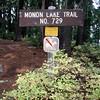 Monon Lake trail where it starts (north end of 4220 road)