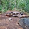 Campsite at Jude Lake