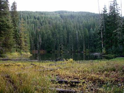 Back side of Jude Lake?