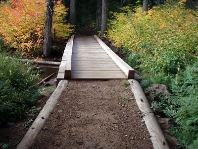 Bridge at Jude Lake