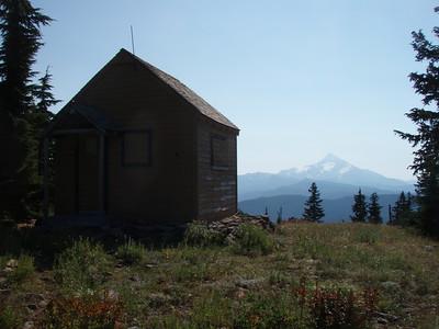 Hawk Mountain and Mt Jefferson