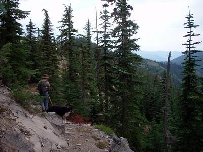 Rho Ridge near the northern trailhead