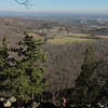 Shenandoah Valley north from Fish Hatchery overlook