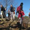 Hikers on Fish Hatchery overlook