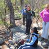 Waiting at Buzzard Rock overlook